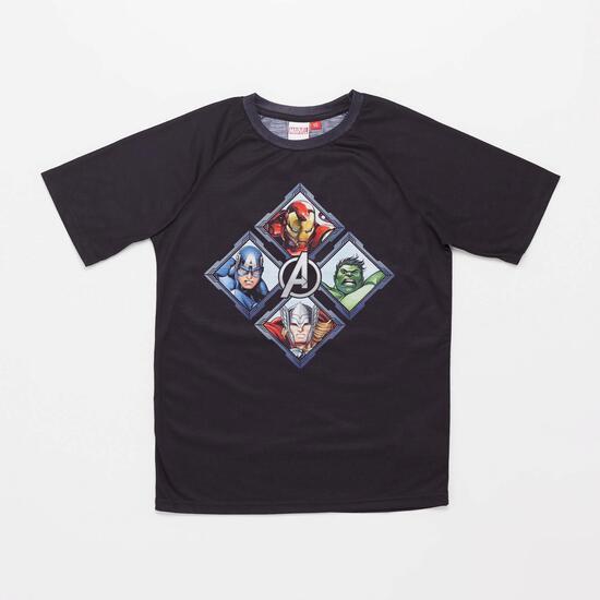 0av Marvel Jr Camiseta M/c Alg.