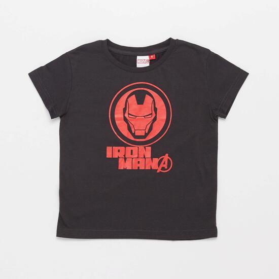 0av Marvel Kid Camiseta M/c Alg. Ironman
