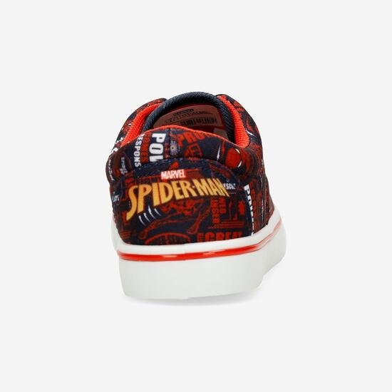 Zapatillas Lona Spiderman
