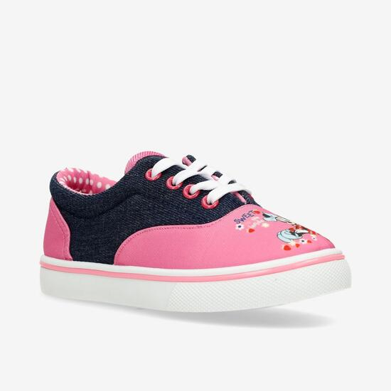 Zapatillas Lona Minnie Mouse