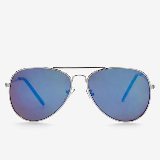 Gafas Sol Aviador Silver