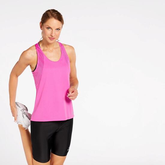 47a02fec Camiseta Tirantes Nike - Fucsia - Camiseta Running Mujer | Sprinter