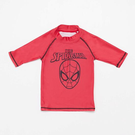 Camiseta Natación Spiderman