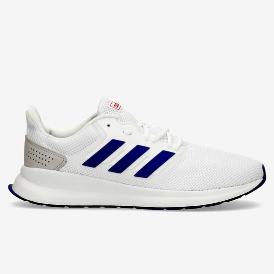 zapatillas running adidas blancas hombre