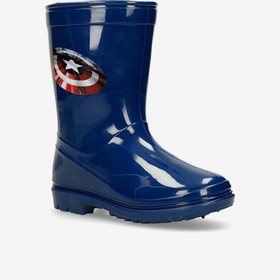 Botas Agua Capitán América