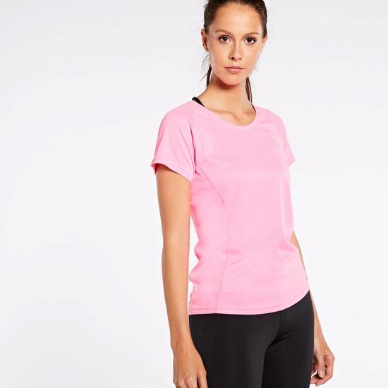 832e11c0 Camiseta Running Ipso Basic - Rosa - Camiseta Mujer | Sprinter