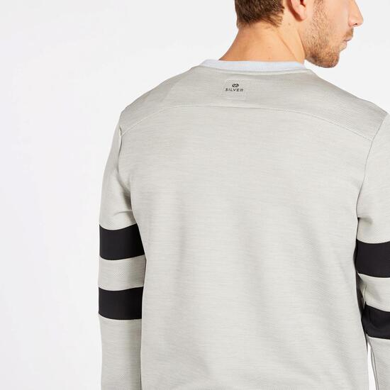 Sudadera Silver Essentials