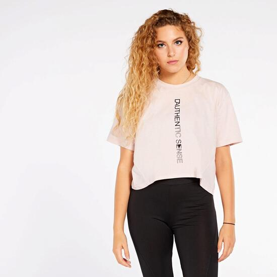 Camiseta Crop Silver Conscious