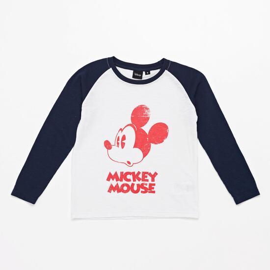 Camiseta Manga Larga Mickey