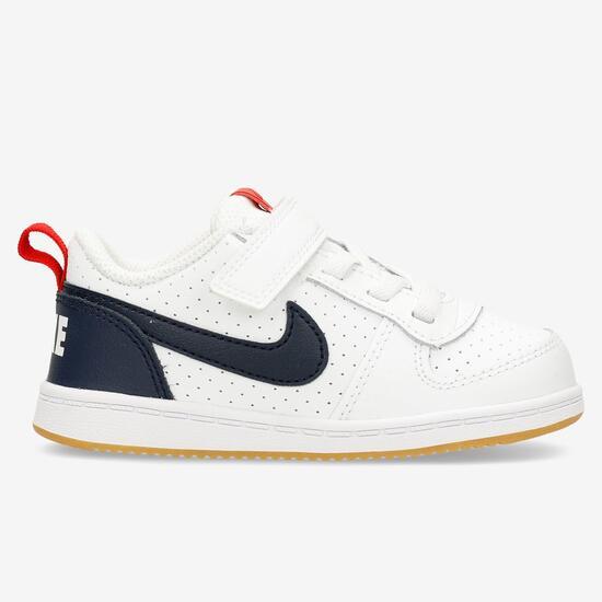 zapatillas blancas nike niño