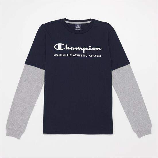 Camiseta Manga Larga Champion