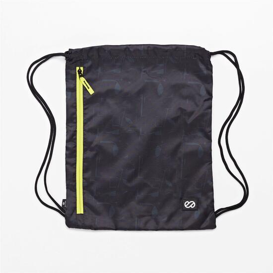 Gymsack Silver Abstract
