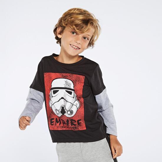 Camiseta Manga Larga Star Wars