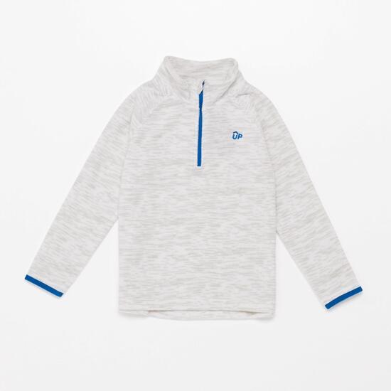 Forro Polar Cuello Zip Up