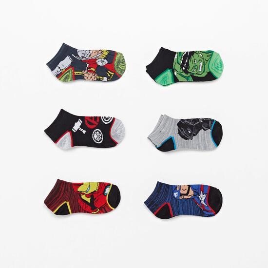 Calcetín Corto Avengers
