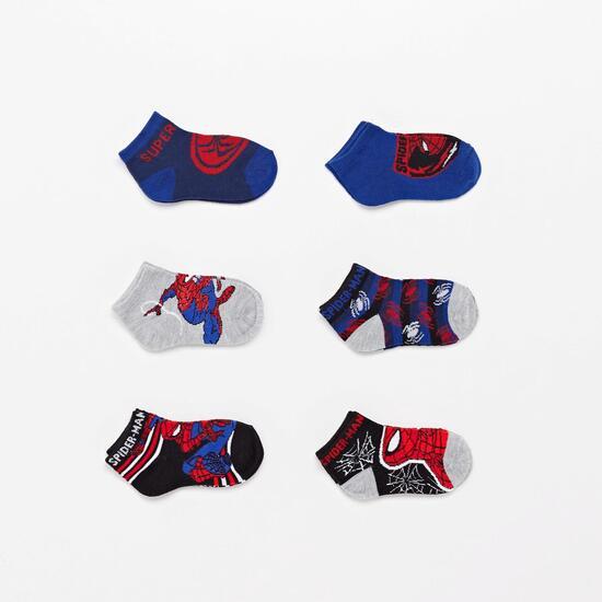 Calcetín Corto Spiderman
