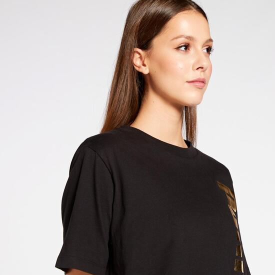 Holiday Sra Camiseta M/c Crop Alg.