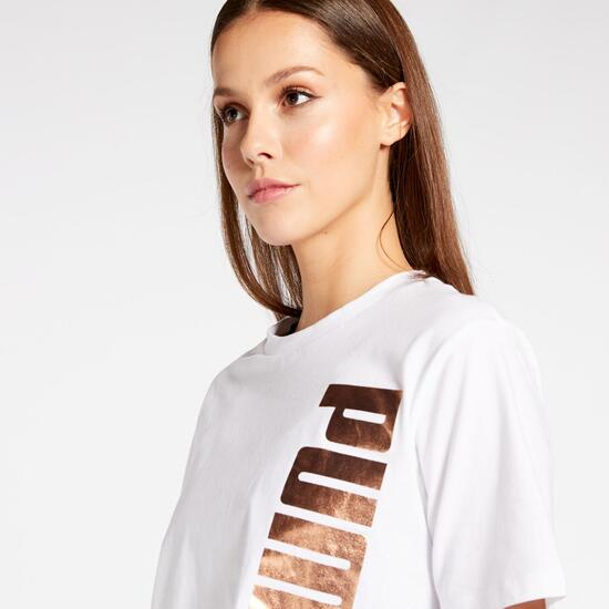 Holiday Sra Camiseta M/c Crop Alg.