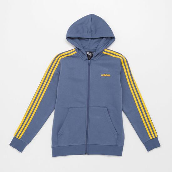 3 Stripes Jr Sudadera Ab. Cap. Felpa P.