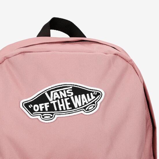 mochilas vans of the wall rosa