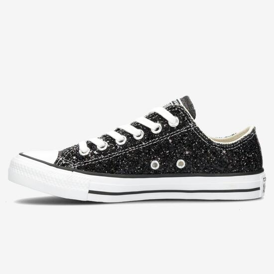 all star converse niña negro