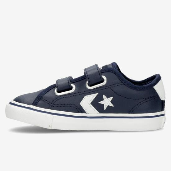 Converse Star Replay Marino Zapatillas Velcro Niño | Sprinter