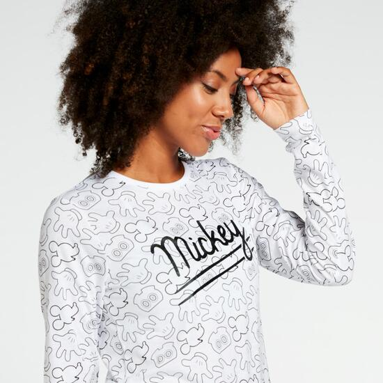 Std Av Mickey Sra Camiseta M/l Alg.