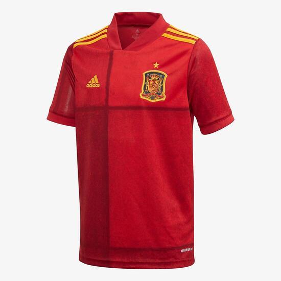 EspaÑa Jr Camiseta M/c 1ª Equip. R. Futbol