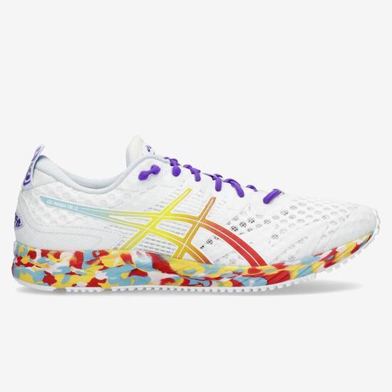 zapatillas asics mujer running gel blanco