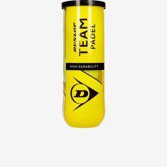Dunlop Team Padel x3 pelotas