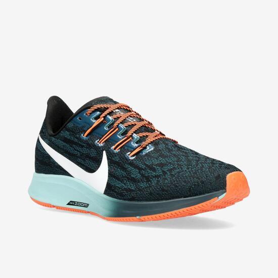 Nike Air Zoom Pegasus 36 - Azul - Zapatillas Running Mujer ...