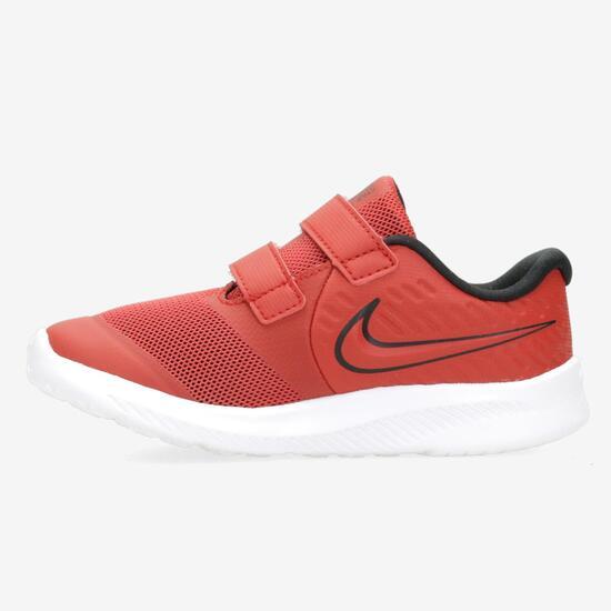 Tênis Nike Infantil Star Runner 2 Preto e Branco