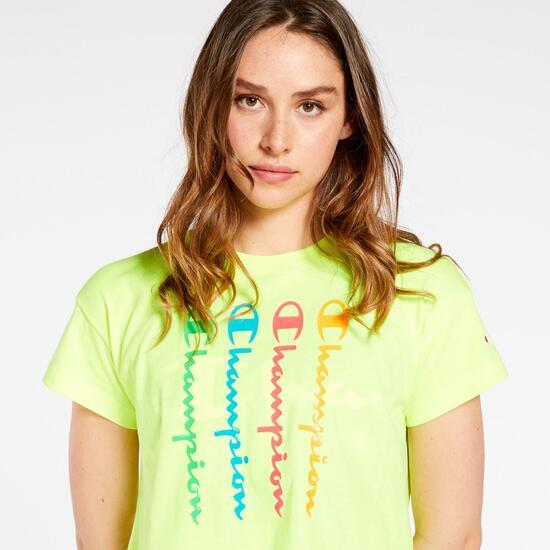 Camiseta Crop Champion