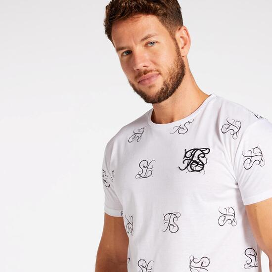 T-shirt Silver Fit