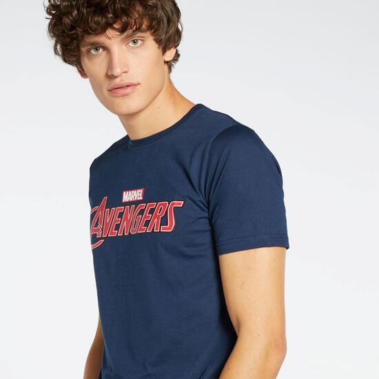 0av Stamps Cro Camiseta M/c Alg.avengers