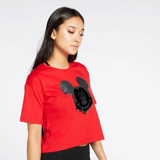 Std Mickey Sra Camiseta M/c Crop Alg