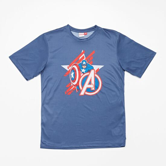 Camiseta Tenis Capitán América