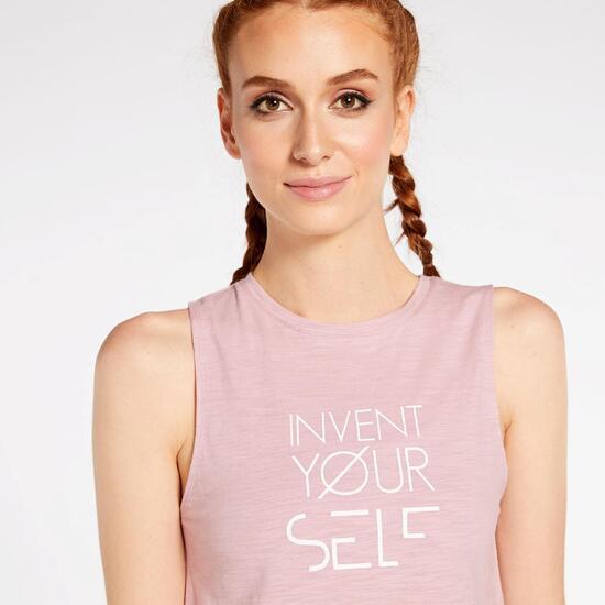 Camiseta Tirantes Silver Essentials