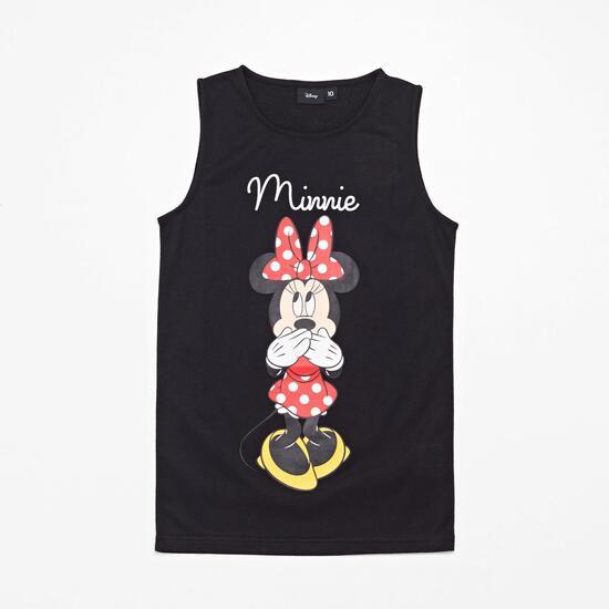 Std Mickey Jra Camiseta Tir. Anch Alg. Minnie