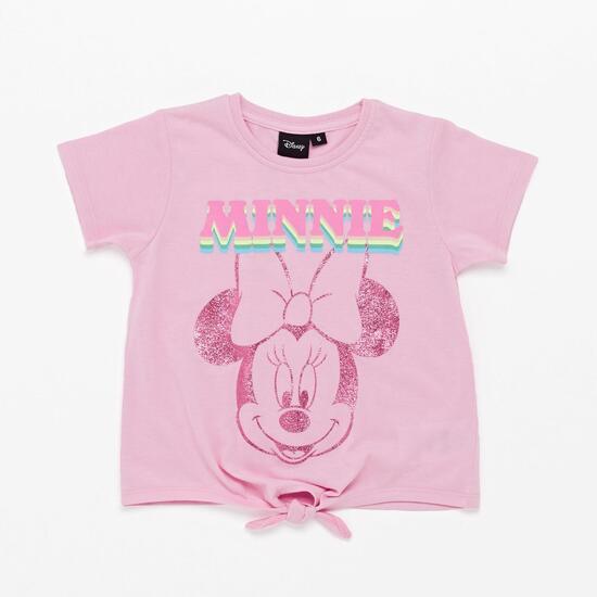 Std Mickey Kida Camiseta M/c Glitter Nud Alg Minni
