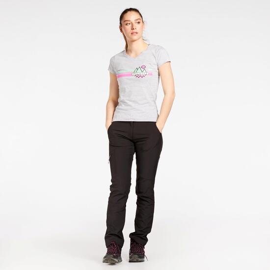 Brk Sra Camiseta M/c Alg.