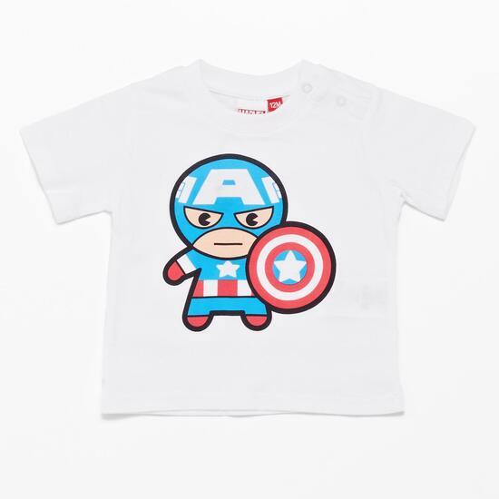 Conjunto Ropa Capitán América