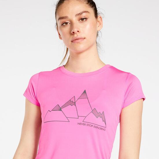 Brk Sra Camiseta M/c Pol.