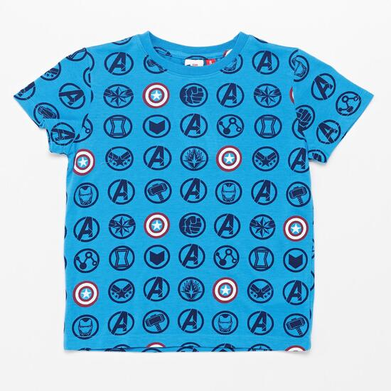 T-shirt Capitão América