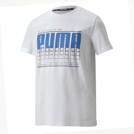 Biglogo Jr Camiseta M/c Alg.excl.