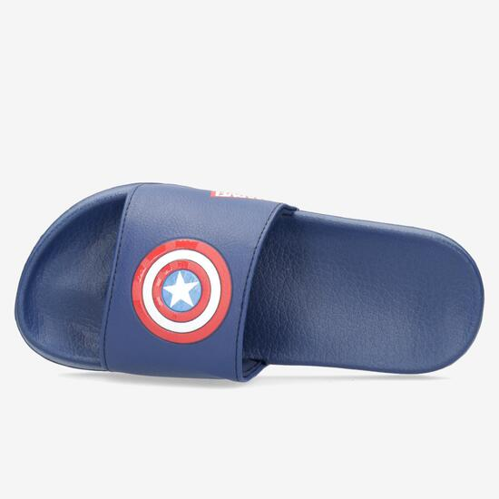 Chanclas Pala Capitán América
