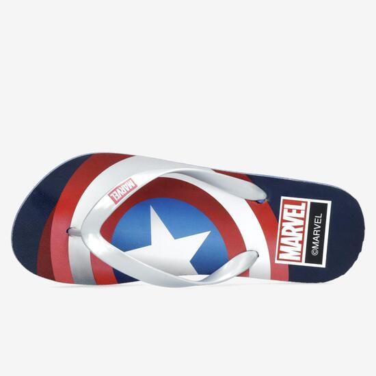 Chanclas Capitán América
