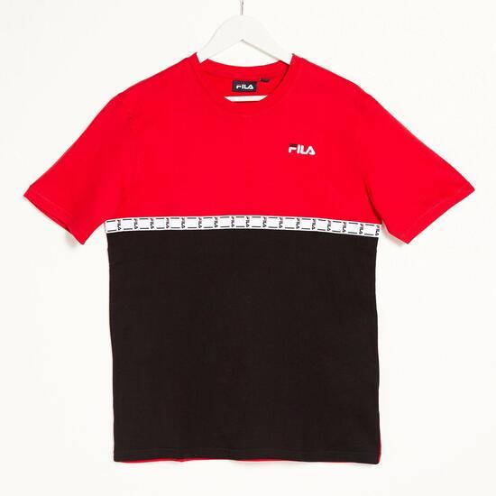 Fila Chad - Rojo - Camiseta Hombre | Sprinter
