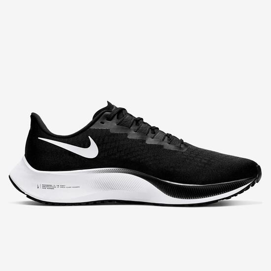 Nike Air Zoom Pegasus 37 Negro Zapatillas Running Hombre ...