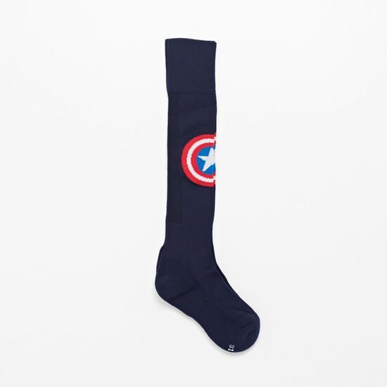 Medias Fútbol Capitán América